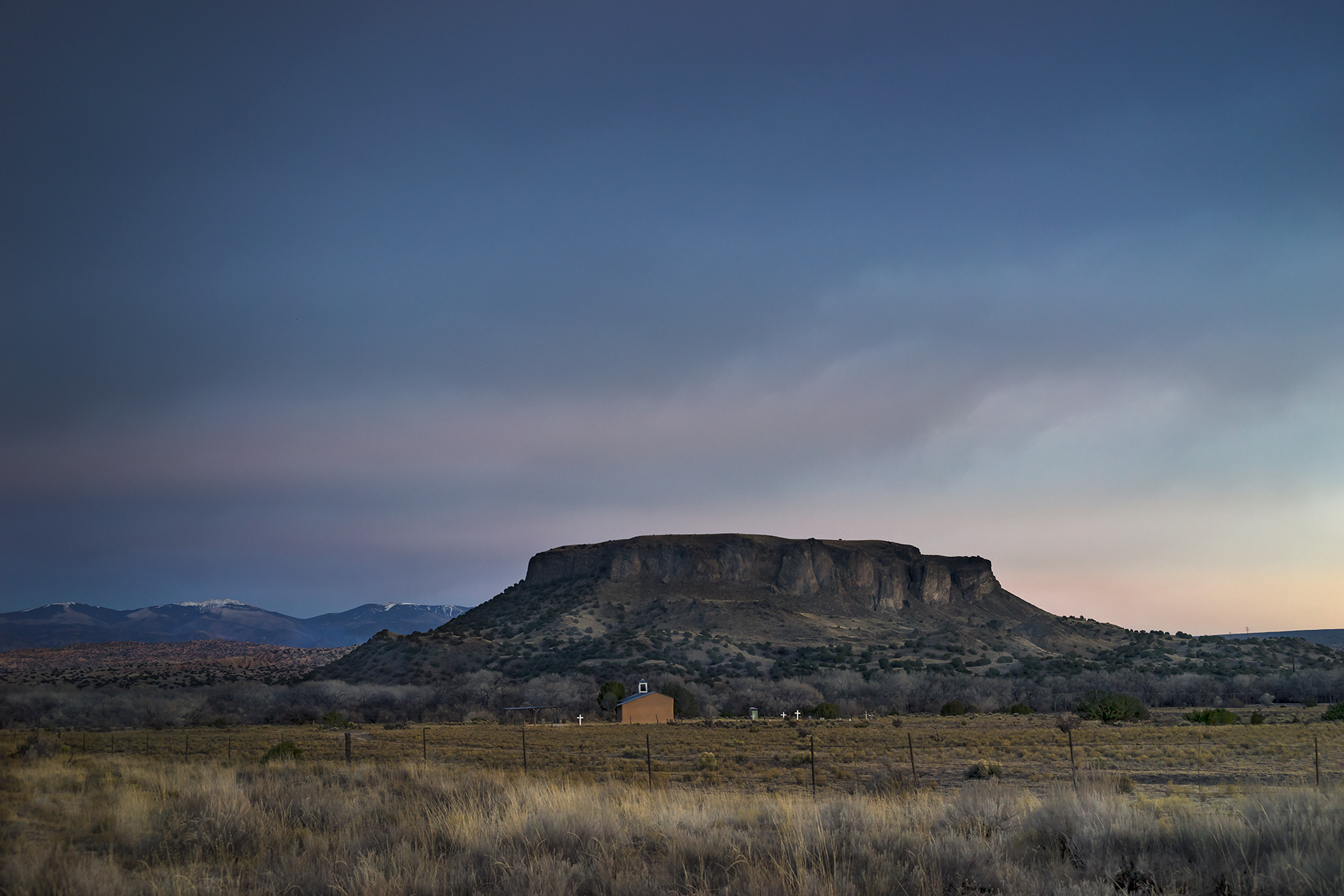 BLACK MESA AND CHURCH NM