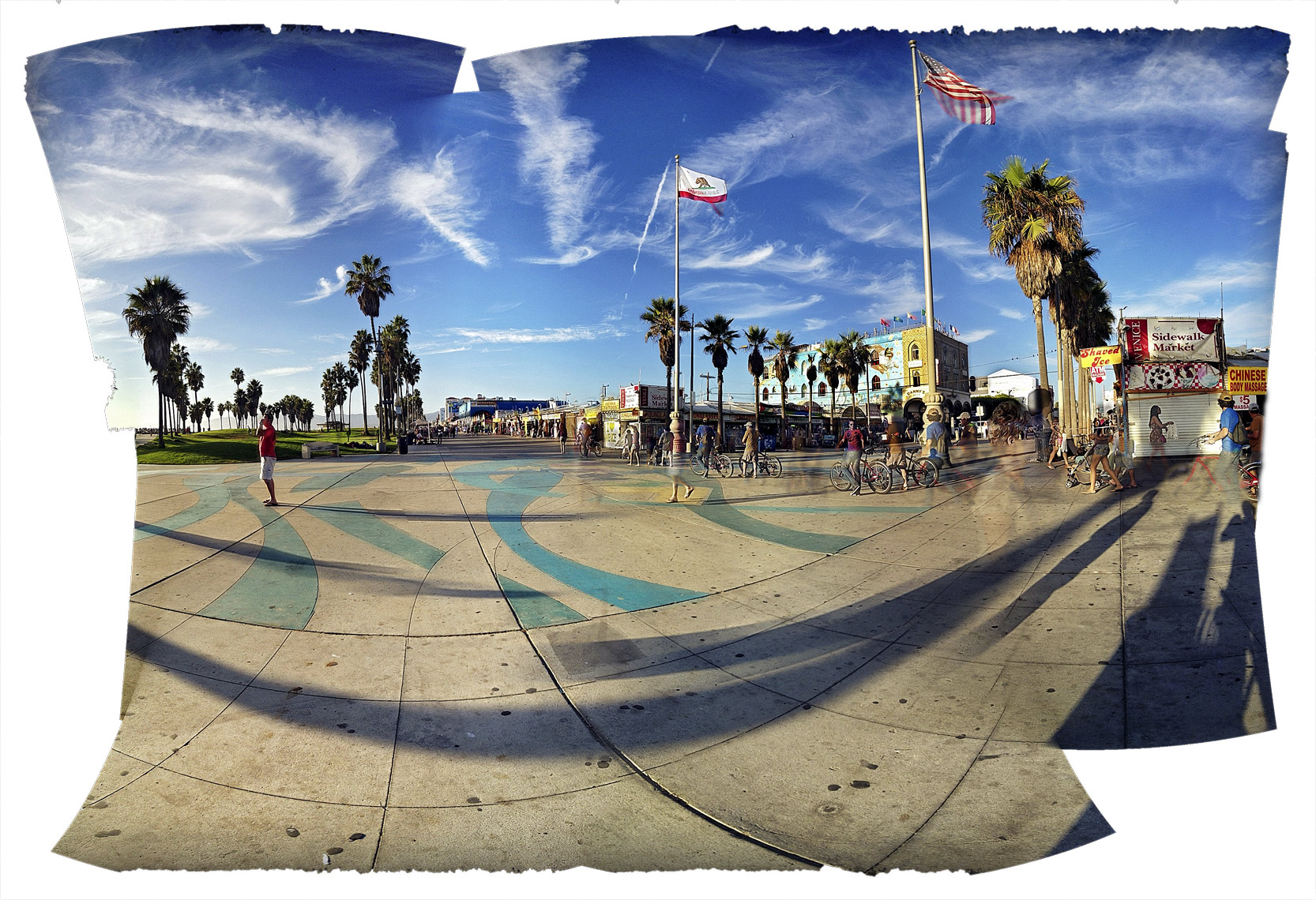 davidhoptman_photo-iPhone-Venice_brdwalkflags